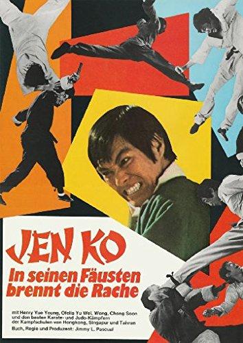 Jen Ko - In seinen Fäusten brennt die Rache - Filmart [Limited Edition]