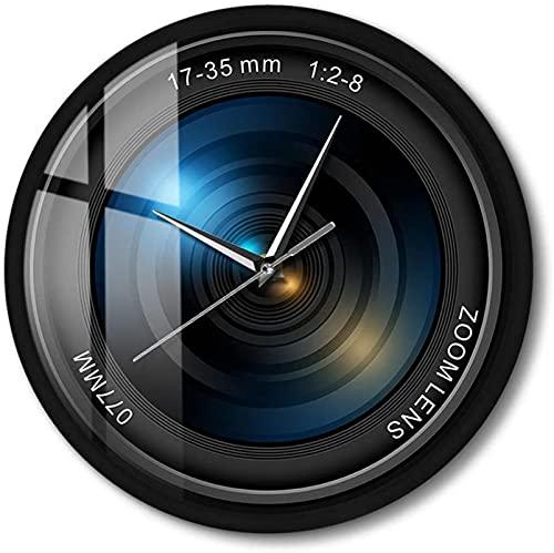 KONGLZG Sonido Activado Pared Reloj fotografía Zoom Color Foto exposición de cámara Personalizada cámara led luz camarógrafo Regalo Noche luz luz