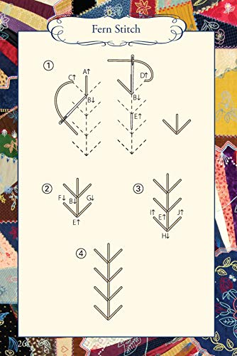 Hand Embroidery Stitches At-A-Glance: Carry-Along Reference Guide (Landauer) Pocket-Size Step-by-Step Illustrated How-To for 30 Favorite Stitches, plus Tips & Techniques and Needle & Thread Charts