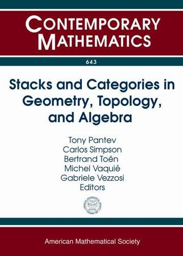 Stacks and Categories in Geometry, Topology, and Algebra (Contemporary Mathematics)の詳細を見る