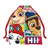 ARDITEX PW13824 Bolsa Merienda 26.5X21.5cm de Nickelodeon-Patrulla Canina