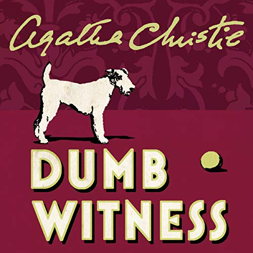 Dumb Witness audiobook cover art