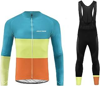comprar comparacion Future Sports Uglyfrog MTB Invierno Termo Maillot de Ciclismo Hombre Mangas Largas Ropa para Bicicleta 20D Cojín Conjunto ...