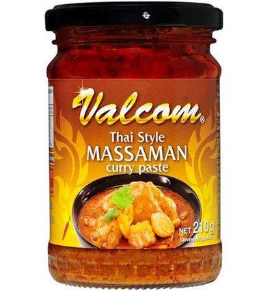 Valcom Massaman Curry Paste 210gm