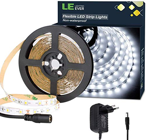 Amazon.es - 16.4 Ft (5M) Waterproof Led Strip 300 LEDs (power adaptor included)