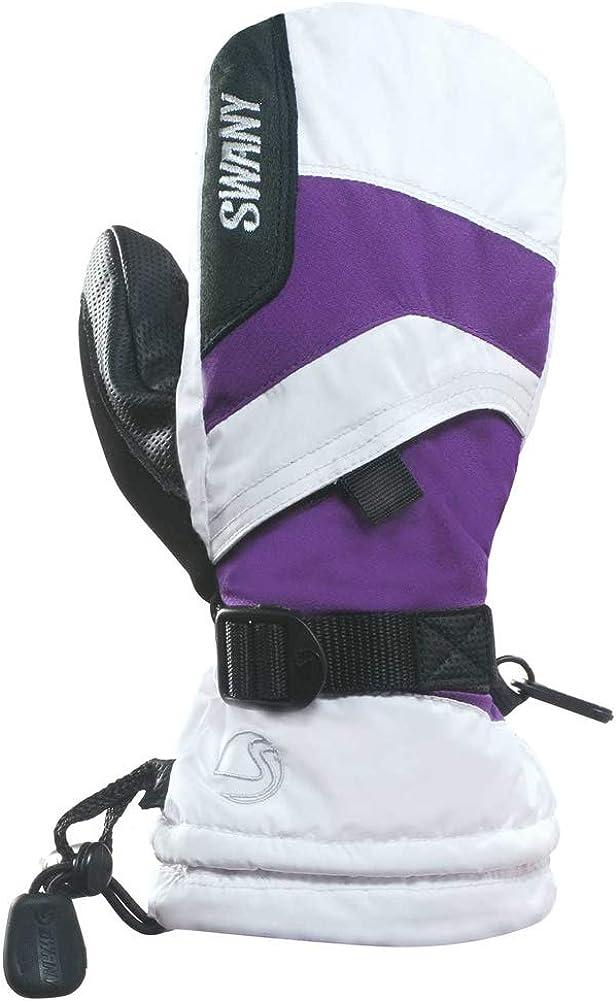 Swany X-over Mitts Jr. (Sx-66j) - Kid's - White/purple