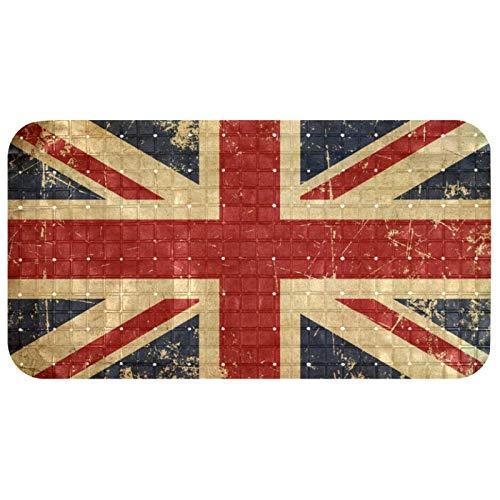 Bath Tub Shower Mat Non-Slip UK Aged Flat Flag Bathtub Mats