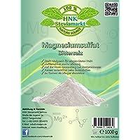 Sales de Epsom - sulfato de magnesio 1 kg - ayuda natural para el ayuno y la cura del ayuno - laxantes - limpieza del hígado