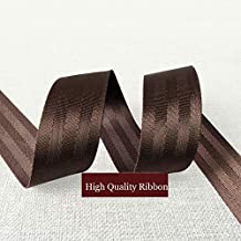 Bag Webbing 3M/Lot 20Mm 25Mm 38Mm 50Mm Ribbon Belt Outdoor Backpack Bag Parts Black Coffee Webbing Car Seat Belts Pet Belts Tow Belt