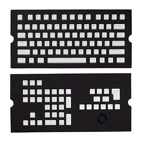 Corsair CH-9000234-WW PBT Double-Shot Tastenkappen (US/UK-Layout) Weiß