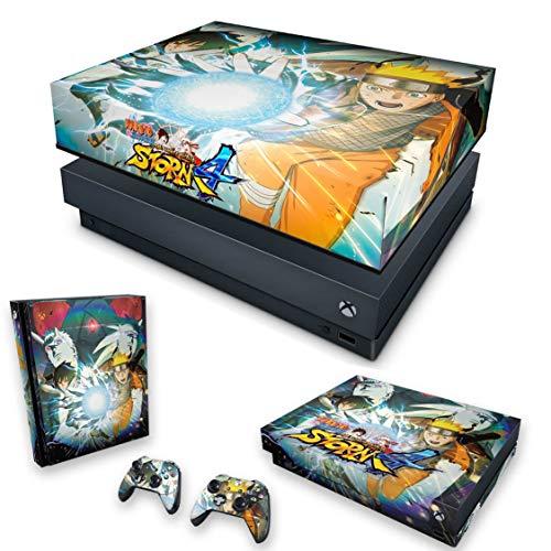 Capa Anti Poeira e Skin para Xbox One X - Naruto Shippuden: Ultimate Ninja Storm 4