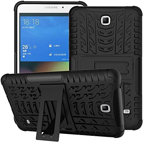 DETUOSI for Samsung Tab 4 7 inch Case Shock Absorption High Impact Resistant Heavy Duty Armor product image