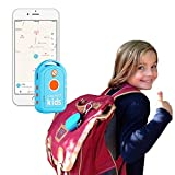Weenect Kids - Localizador gps para niños con batería de larga duración y teléfono de emergencia
