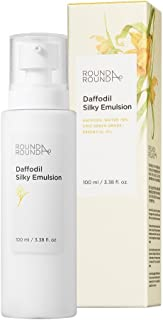 [ROUND A'ROUND] Daffodil (Silky Emulsion 100ml) - Skin Brightening Smooth Milky Facial Lotion