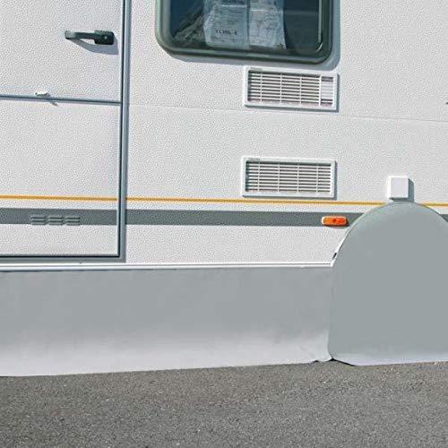 BERGER Wagenschürze 600x75cm Abdeckung Wohnmobil Fahrzeugschürze Camping Bodenschürze Reisemobil