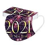 10/20/30/50/100 bandanas de Navidad y Año Nuevo, para adultos, colores oscuros, uniformes, estables, desechables