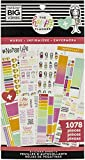 Me & My Big Ideas-Create 365 Happy Planner Sticker Value Pack These stickers are the perfect addition to your planner! This package contains one sticker pad with thirty 9x4-3/4 inch sheets with an assortment of stickers on each sheet Comes in a varie...
