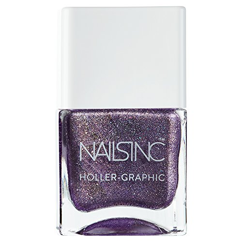 Nails Inc Holler Graphic, Get Out My Space
