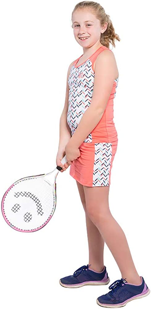 Girls Tennis Dress Set with and Top 2021 new Racerback NEW before selling ☆ Skirt