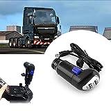 COLOR TREE Botón de Cambio de Marchas USB de un camión Man Juegos ATS y ETS2 Logitech G29 G27 G25 G920
