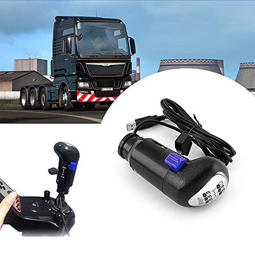 COLOR TREE Bouton de Changement de Vitesse USB d'un Camion Man Jeux ATS et ETS2
