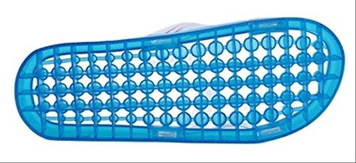 水切り足つぼサンダルリフレクソロジーツボ押し健康サンダル選べるカラー・サイズ(グリーン,M23.5-24.5cm)