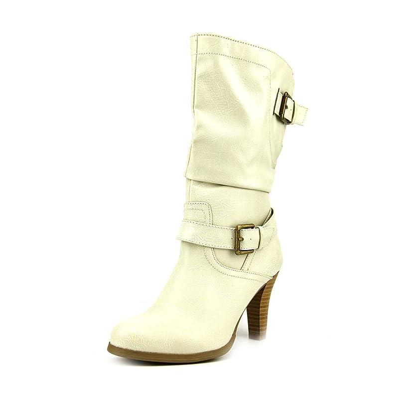 死ぬ適合するフィラデルフィア[Style & Co.] Womens Amorie Almond Toe Mid-Calf Fashion Boots [並行輸入品]