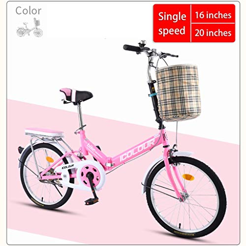 Lowest Price! Foldable Bicycle Outdoor Portable Bicycle Small Mini Scooter Mountain Bike Urban Road ...