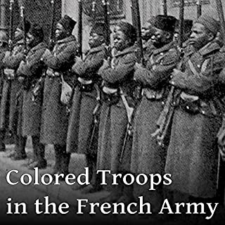Colored Troops in the French Army audiobook cover art