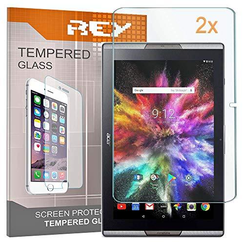 2X Protector de Pantalla para Acer ICONIA Tab 10 A3-A40 (10,1 Pulgadas),...