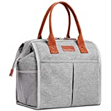 Lunch Bag for Women & Men, Large Insulated Lunch Box Cooler Tote Bags, Adult Reusable Lunch Boxes...
