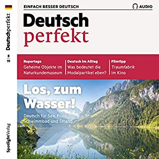 Deutsch perfekt Audio. 8/2019 Titelbild