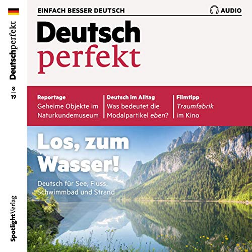 Deutsch perfekt Audio. 8/2019 Titelbild