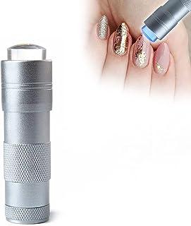 Tixiyu LED UV Nail Lampen voor Gel Nail, Mini 12 LED Handheld LED UV Nail Droger, Zaklamp Lampen Nail Droger, UV Gel Fast ...