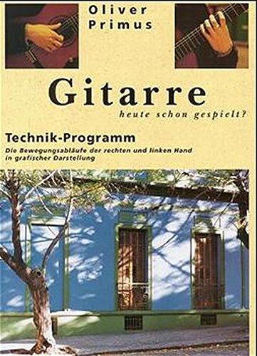 Gitarre: Technik-Programm (Waldgut, logo. (logo))