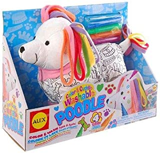 ALEX Toys Craft Color and Cuddle Washable Poodle
