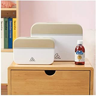 XZHMYYH Medicine box Multiple home kits storage box with double medicine box (Color : Layer, Size : Small)