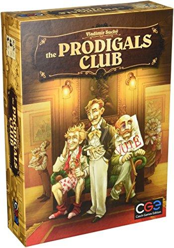 Czech Games Edition cge00033los Prodigals Club Junta Juego