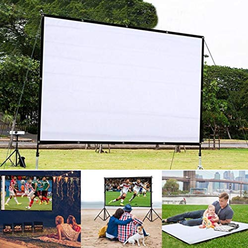 4:3 Portable HD Projector Screen $11.90 (80% Off with code)