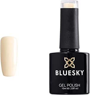 Bluesky Bluesky Gel Polish, City Scape, 80533, 10 ml, Gel Soak Off Nail Polish, Yellow, Cream, Pastel (Need to Cure Under ...