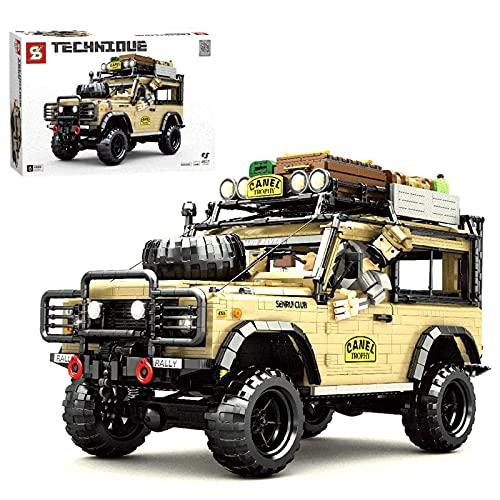 Technic Bloques de construcción automóviles todoterreno, Juguete Construcción para Niños a Partir de 8 años, compatibles con Lego(4631 Piezas) Static