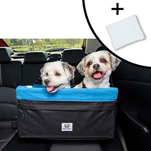 Boosta Pooch Hundesitz für Doppel- oder Einzelbett, geeignet für 1 oder 2 Hunde bis 14 kg Sitzerhöhung für Hunde, L 48,3 x B 35,6 x H 25,4 cm, 19