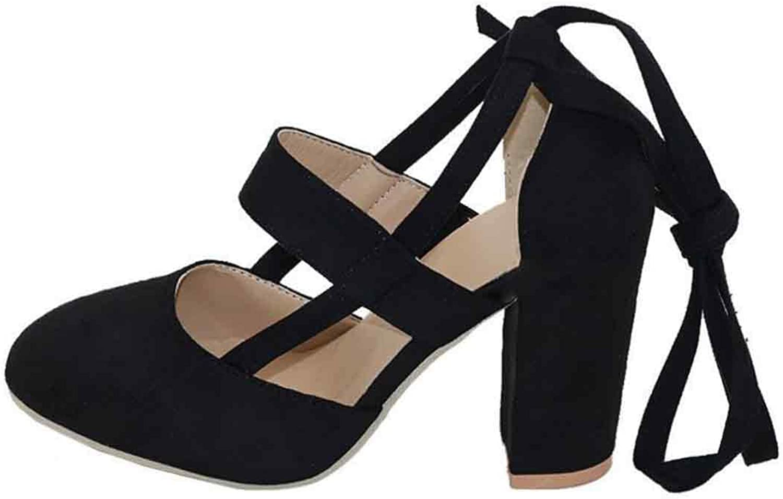 Inlefen Women's Open Toe Platforms Ankle Strap shoes High Heel Dress Sandals