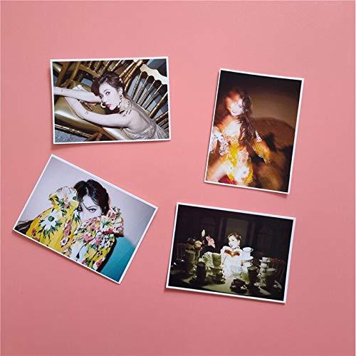 16 Unids / set KPOP KimHyunA Álbum FLOWER SHOWER Lomo Tarjeta de foto Ventiladores Tarjeta colectiva LOMO Imágenes Photocard Suministros de ventilador