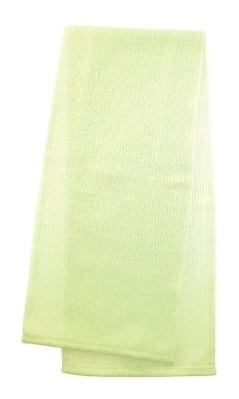 かける気を散らす発表マーナ  ボディタオル 「とろり」 グリーン B576G