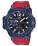 Casio GA-1100-2A - Reloj (Reloj de pulsera, Resina, Acero inoxidable, Azul, Resina, Rojo, Mineral)
