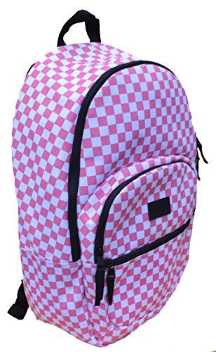 Vans Rucksack Backpack Motiveatee Back Pink Weiß kariert