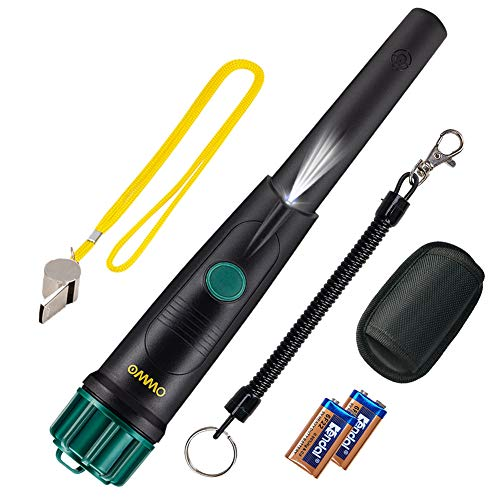 Discover Bargain OMMO Metal Detector Pinpointer for Adults and Kids, IP68 Full Waterproof Metal Dete...