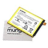 Batería para Sony Original 1296-2635 para Sony Xperia Z5 Premium Z5 Premium Dual con paño de Limpieza mungoo