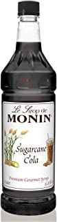 Monin Sugarcane Cola Syrup, 33.8 Fl Oz (Pack of 1) PET Bottle